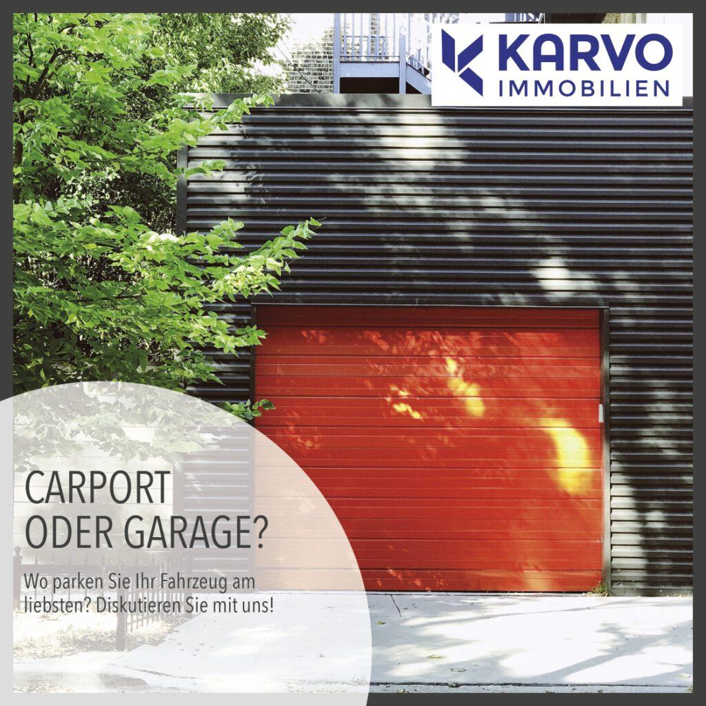 Carport oder Garage?