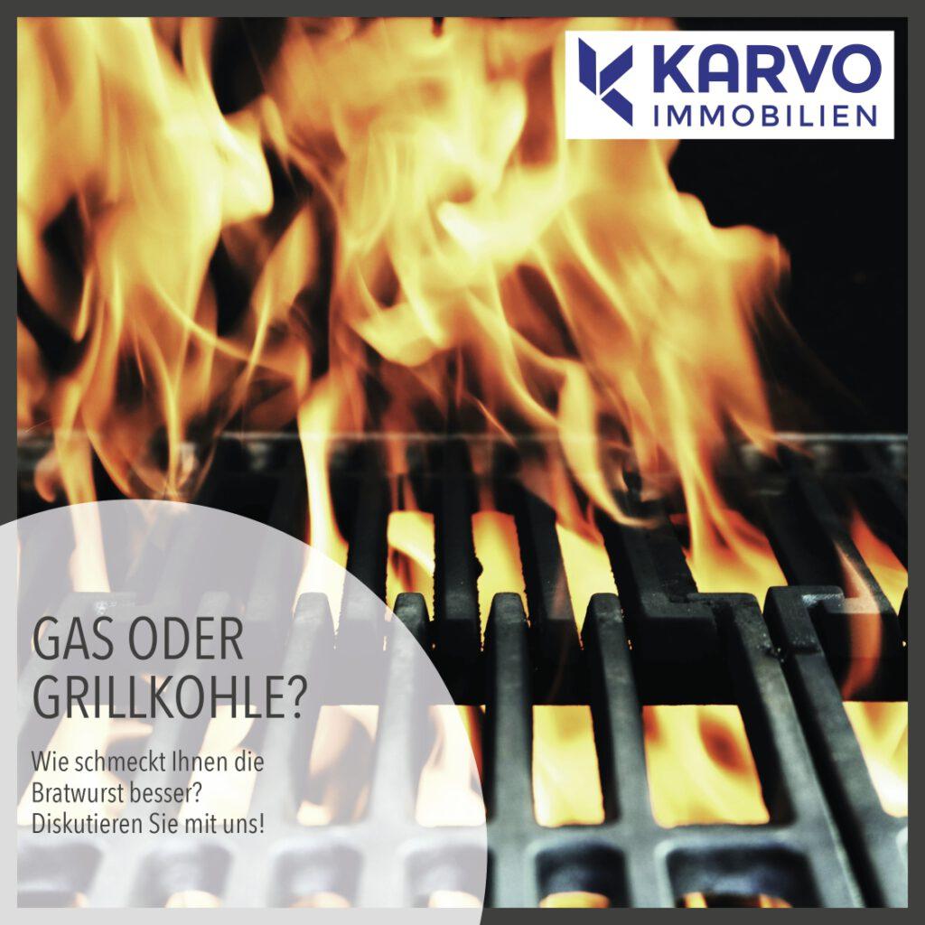 Gas oder Grillkohle?