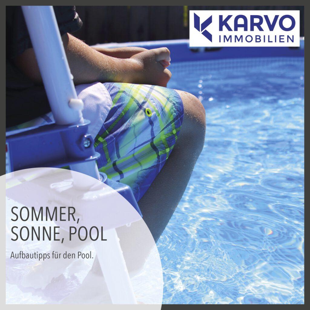 Sommer, Sonne, Pool: Was ist zu beachten?