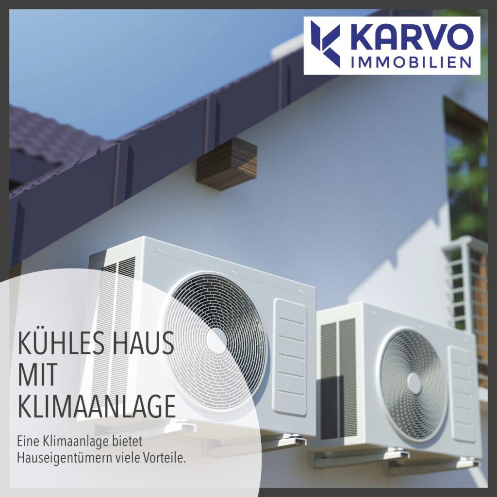 Kühles Haus mit Klimaanlage