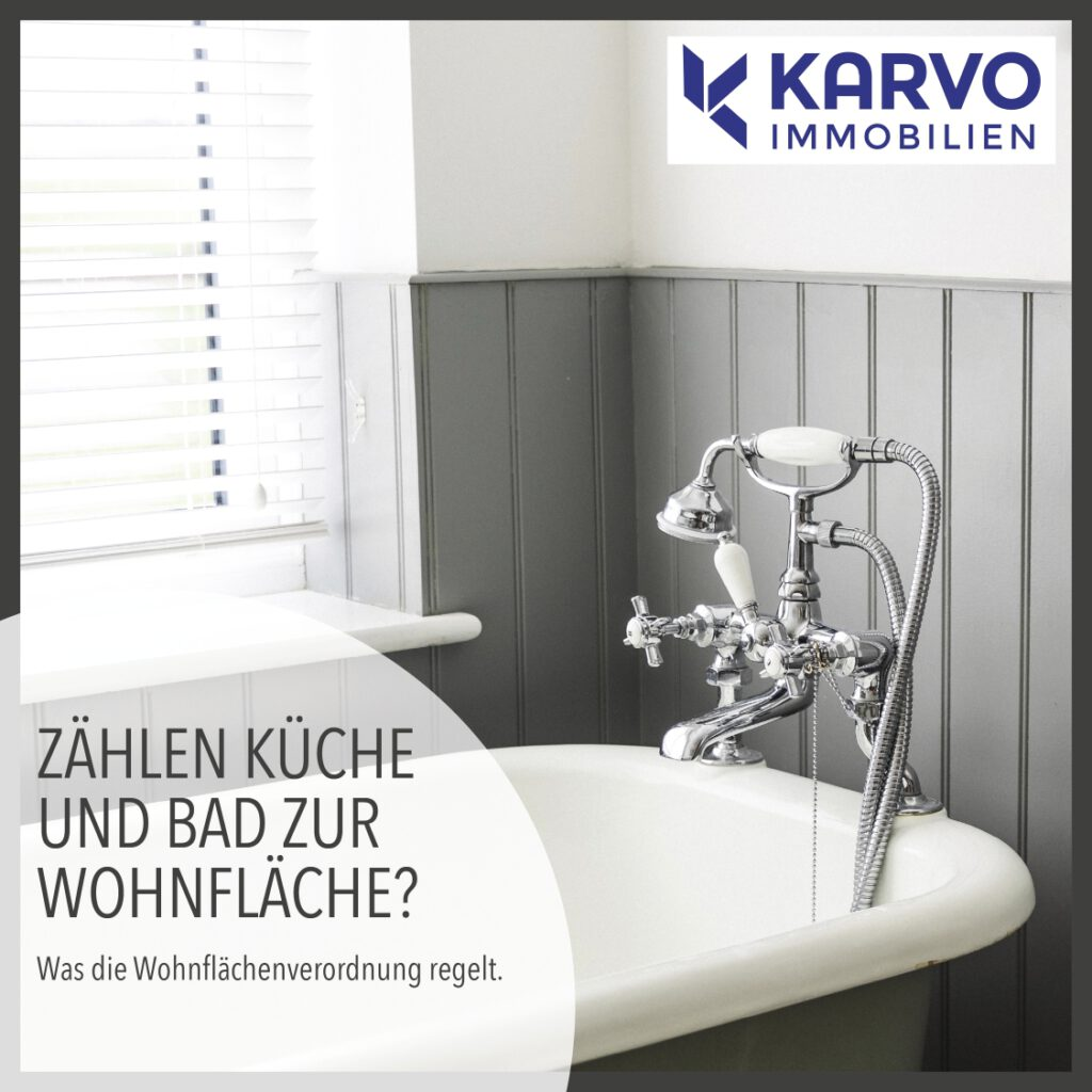 Zählen Küche und Bad zur Wohnfläche?