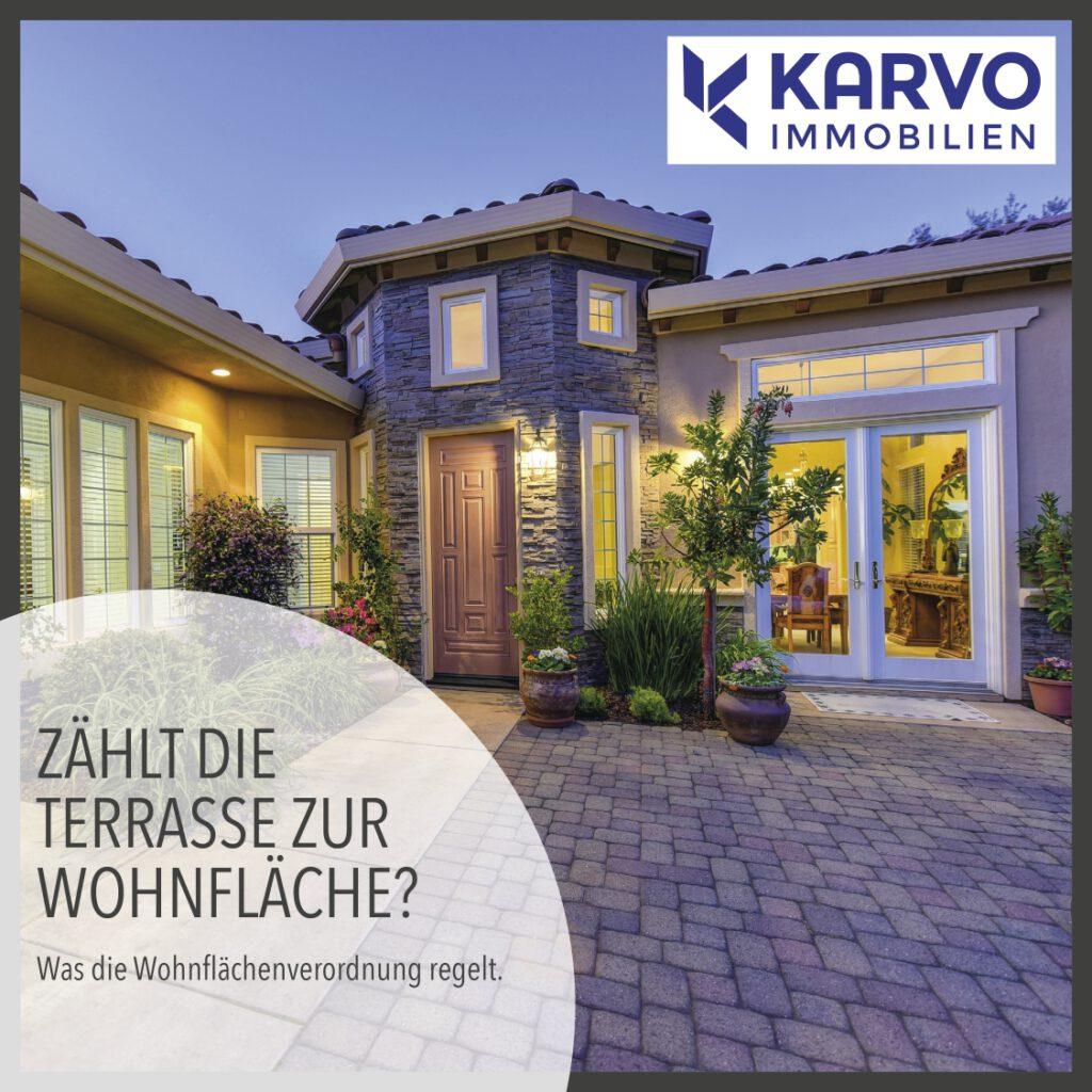 Zählt die Terrasse zur Wohnfläche?